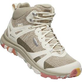 Keen Terradora II Mid WP Zapatillas Mujer, brick dust/birch